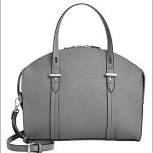 NWT INC Haili gray satchel purse handbag